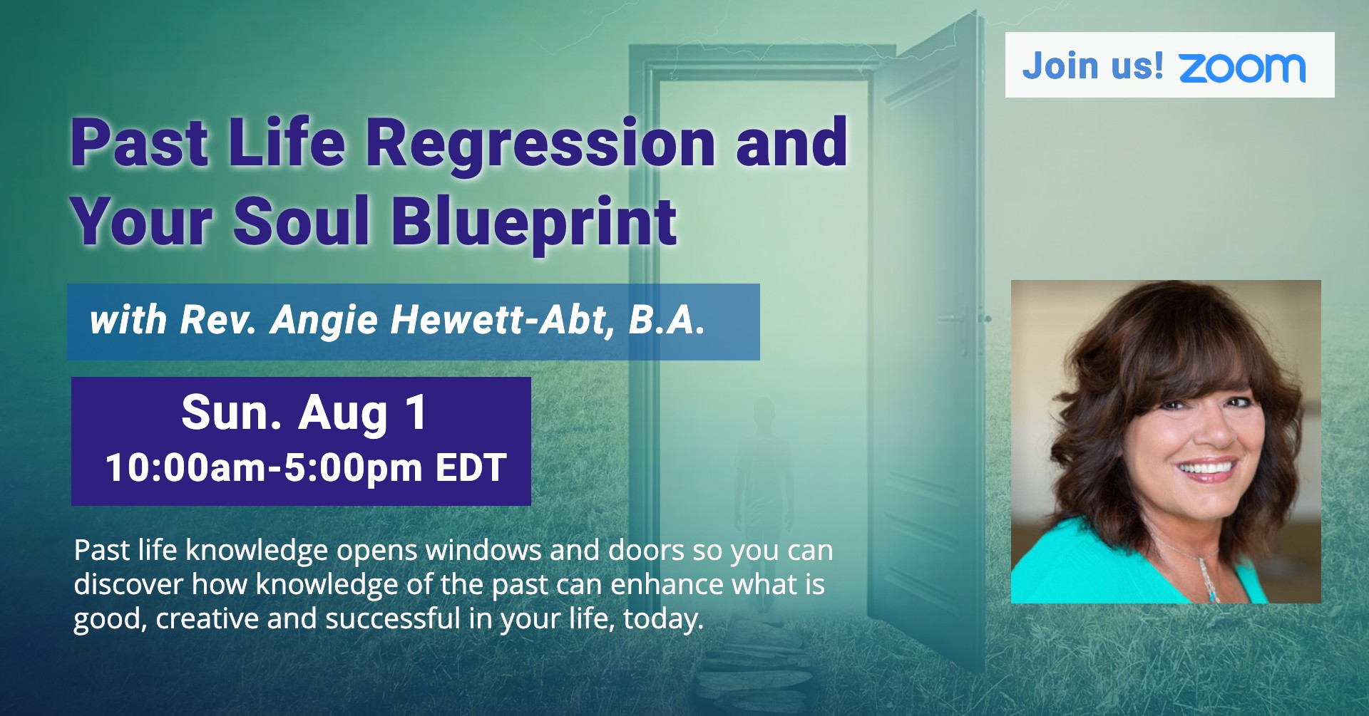 Past Life Regression and Your Soul Blueprint with Rev. Angie Abt